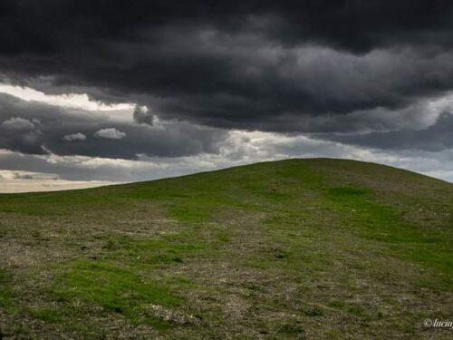 Nuvole e terra