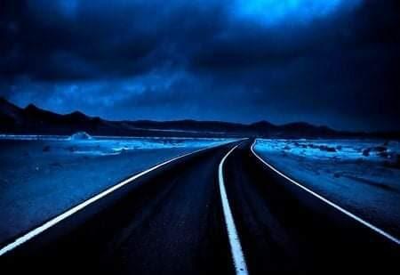 Le strade blu