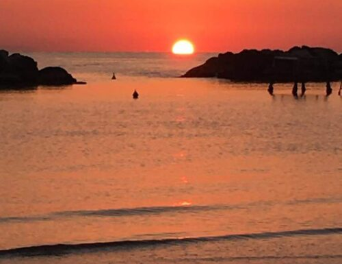 La vita ti abbraccia tra un alba e un tramonto