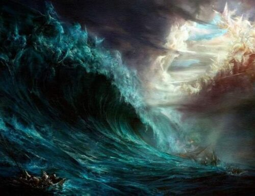 Come fosse terra il mare