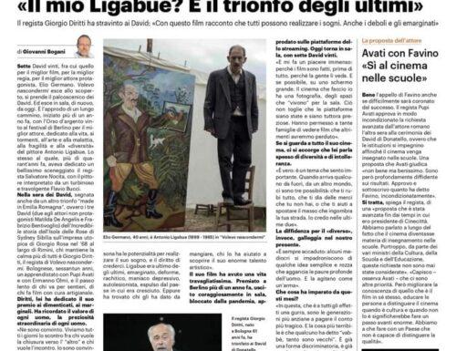 Giorgio Diritti, il suo Ligabue è il trionfo degli ultimi