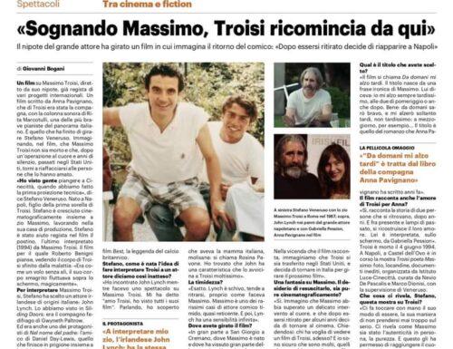 «Da domani mi alzo tardi», sognando Massimo, Troisi ricomincia da qui