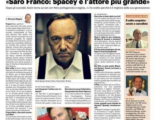 Kevin Spacey torna al cinema diretto da Franco Nero
