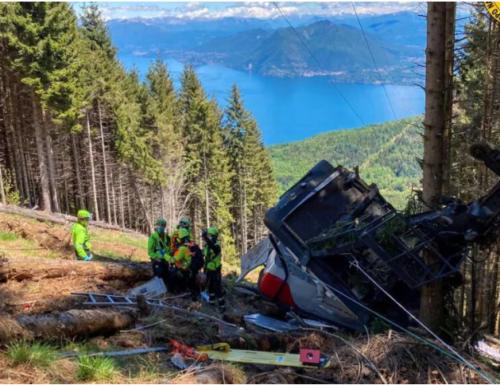 Piemonte, incidente funivia Stresa-Mottarone: 14 le vittime. La procura indaga per omicidio colposo plurimo