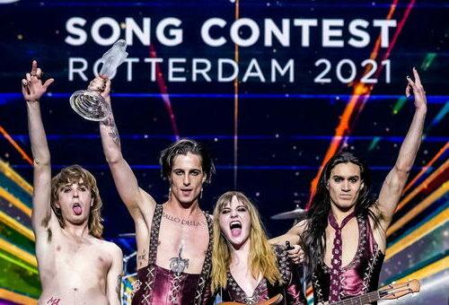 Eurovision.  I Maneskin tornano in vetta all'Europa: non accadeva da 31 anni