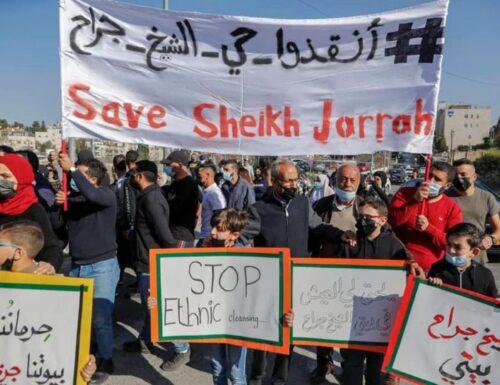 Nel silenzio inaccettabile dei Governi occidentali, continua l'offensiva contro la popolazione arabo-palestinese
