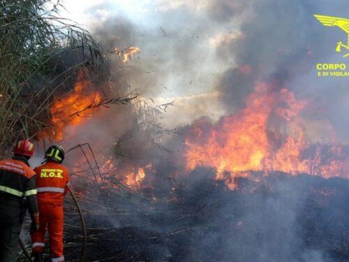 Sardegna in fiamme. Una notte da incubo