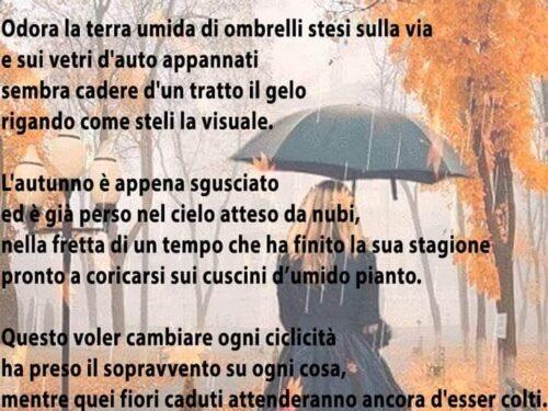 Tempo di pioggia
