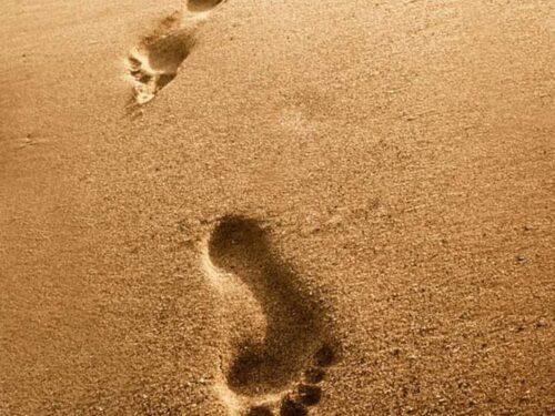 L'importanza di lasciare impronte positive sul cammino della vita