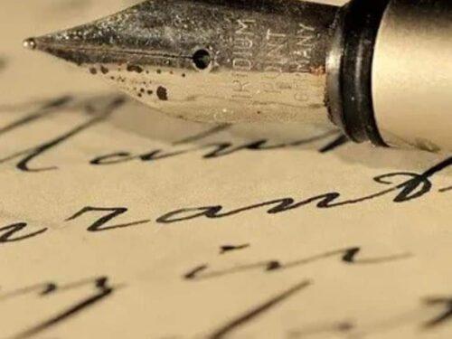 Ricordi di una lettera ( in viaggio)